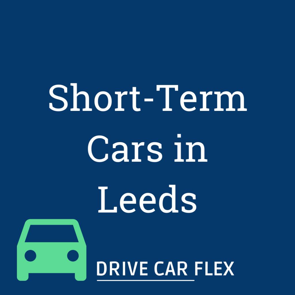 Short Term Car Lease in Leeds