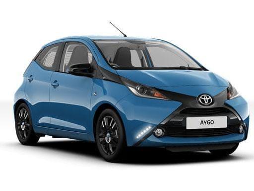 Toyota Aygo Hatchback 1.0 VVT-I [12m] 5dr Auto (Hatchback)